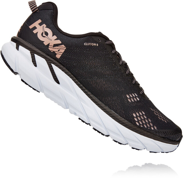 Hoka One One Clifton 6 Shoes Women blackrose gold | Gode
